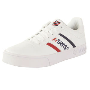 K-Swiss Mens Court-Lite Spellout Sneakers Size 11